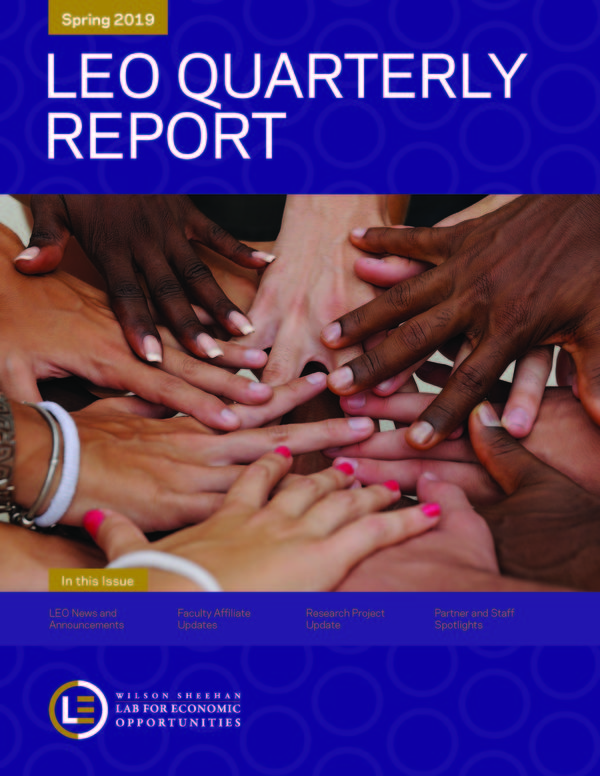 1st Page Quarterly Report Spring 2019