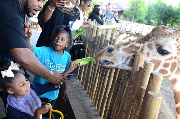 Credit Helping Restore Ability Joi And Family At Hra Zoo Event